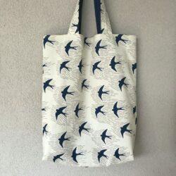 Omkeerbare Shopper NaaiPakket – Birds